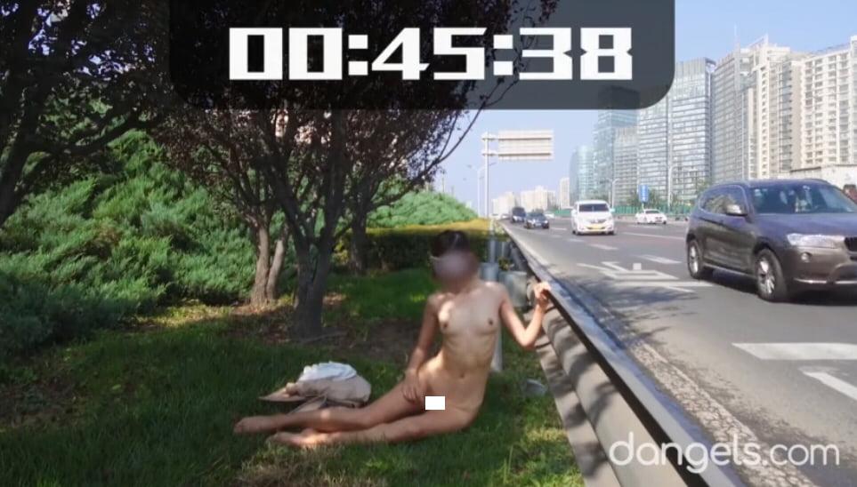 北京天使DensTinon Ariel 60秒極限露出チャレンジ①