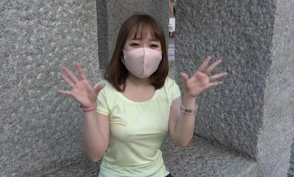 個人撮影 乳首くっきりのノーブラ透けTシャツで街中ランニングする露出系Youtuberさん 動画